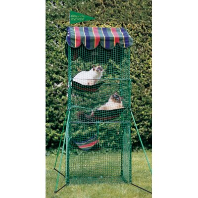 Kittywalk Systems Penthouse™ Outdoor Pet Playpen