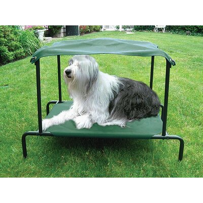 Kittywalk Systems Breezy Bed™ Outdoor Dog Bed in Green