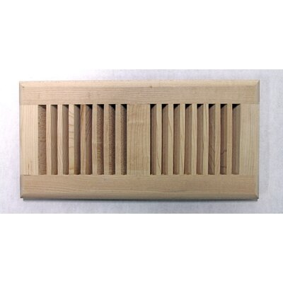 "Moldings Online 5-5/8"" x 13-1/2"" Maple Surface Mount Wood Vent"