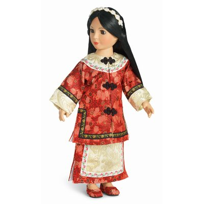 Carpatina Lien Hua Manchurian Outfit for 18&quot; Slim Dolls