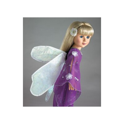 "Carpatina Iris Fairy Outfit for 18"" Slim Dolls"