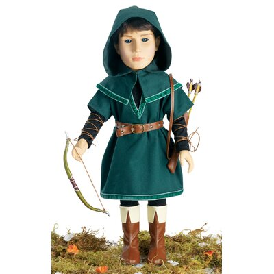 "Carpatina Robin Hood Outfit for 18"" Slim Boy Dolls"