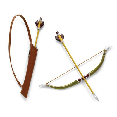 "Carpatina Robin Hood 18"" Boy Dolls Bow and Arrow Set"