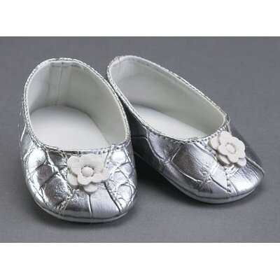 "Carpatina Jeweled Sandals for 18"" Slim Dolls"