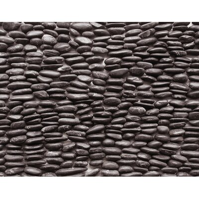Standing Pebbles Random Sized Interlocking Mesh Tile in Mona