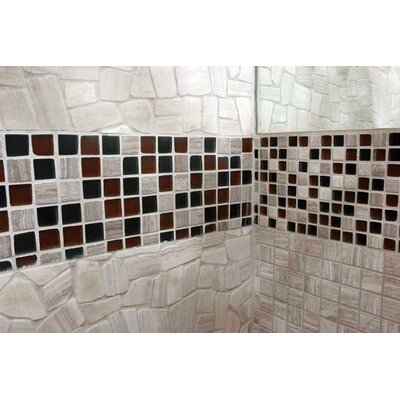 "Solistone Opera 12"" x 12"" Square Glass Mesh Mosaic in Adagio"