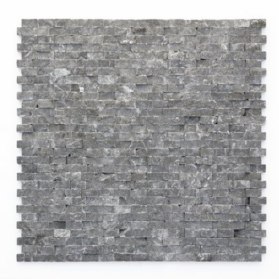 "Solistone Modern 12"" x 12"" Mesh Tile in Madrid"