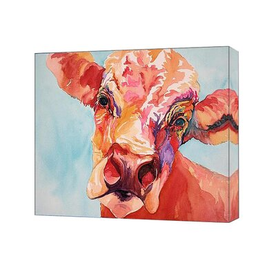<strong>Blackwater Design</strong> Cousins Series Colby the Cow 8 x 10 Wrap Canvas