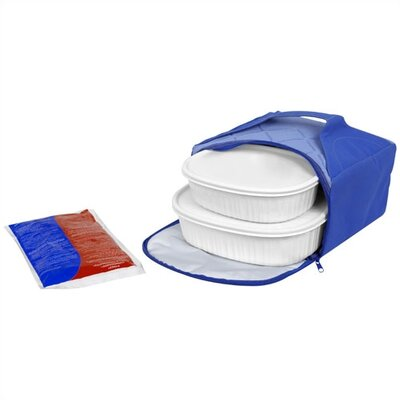 French White Portable Dish Set