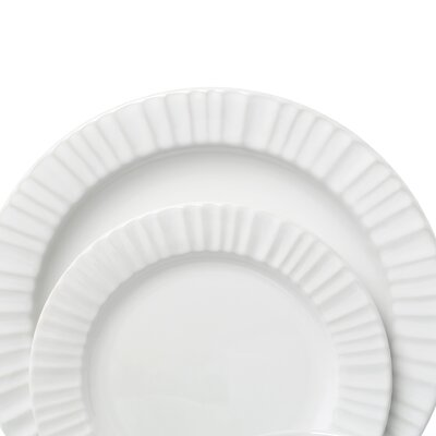 Corningware French White 16 Piece Dinnerware Set