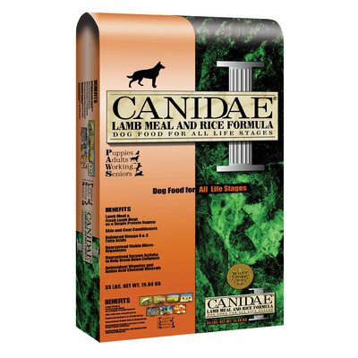 Lamb Meal and Rice Formula Dry Dog Food