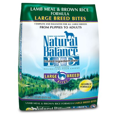 Limited Ingredient Diets Lamb Meal and Brown Rice Large Breed Bites Dry Dog Food