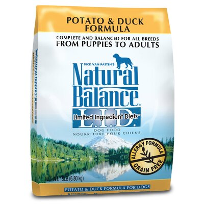 Limited Ingredient Diets Duck and Potato Dry Dog Food