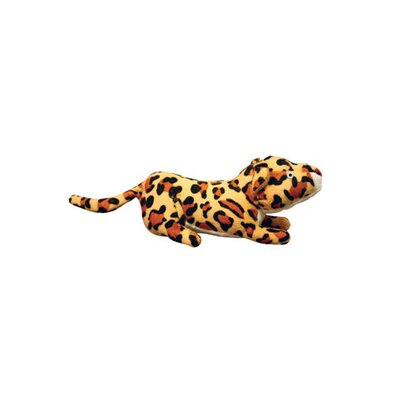 Tuffy's Pet Foods VIP Mighty Junior Safari Leopard Dog Toy