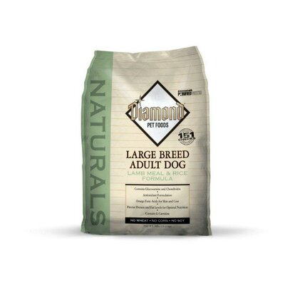 Diamond Pet Food Natural Large Breed Adult Lamb and Rice Dry Dog Food (40-lb bag)
