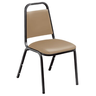 National Public Seating French Vinyl Value Stacking Chair