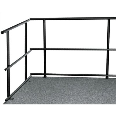 National Public Seating Portable Stage & Seated Riser Package in Carpet