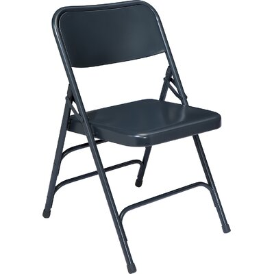 National Public Seating 300 Series Triple Brace Steel Folding Chair