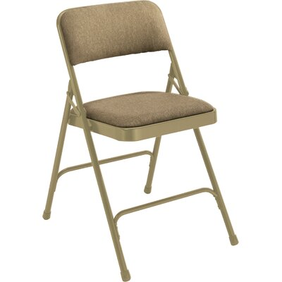 National Public Seating 2200 Series Upholstered Folding Chair