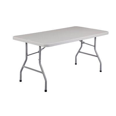 National Public Seating 5' Rectangular Folding Table