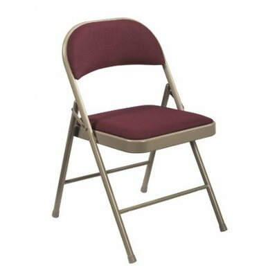 National Public Seating Commercialine Fabric Padded Folding Chair