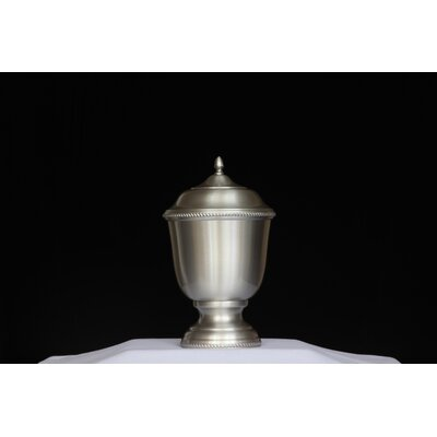 K-L Enterprises Madison Pewter Urn