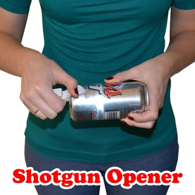 GoPong Keychain Shotgun Beer Bottle Opener (Set of 10)