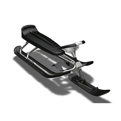 Stiga Curve King Size GT Snow Sled in Silver