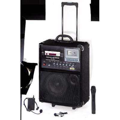 Oklahoma Sound Corporation Pro Audio 100 Watt Wireless P.A. System