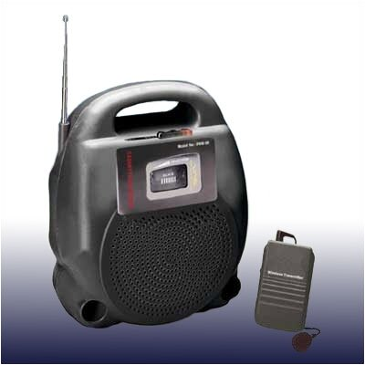 Oklahoma Sound Corporation Portable Wireless 20 Watt PA System