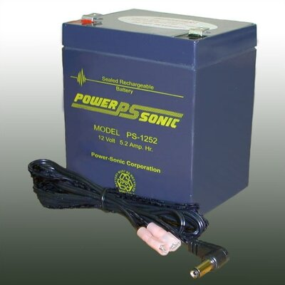 Oklahoma Sound Corporation 12V 5 Amp Rechargeable Battery