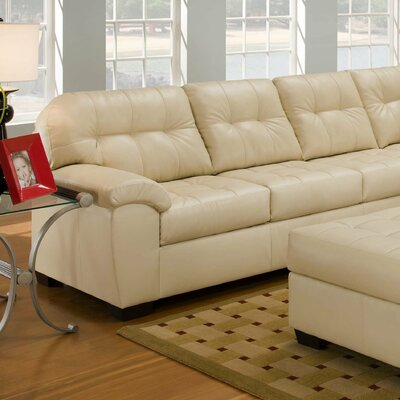 Simmons Upholstery Soho Bonded Leather Living Room Collection