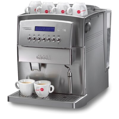 Titanium Super-Automatic Espresso Machine