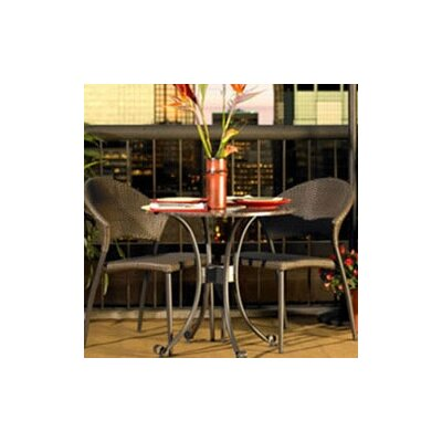 The Outdoor GreatRoom Company Patio 3 Piece Bistro Set