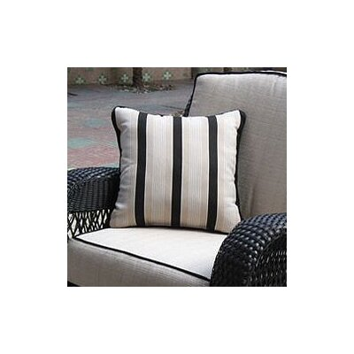 The Outdoor GreatRoom Company Ebony & Ivory Pillow