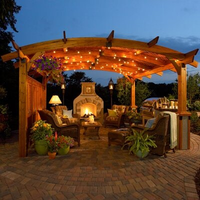 The Outdoor GreatRoom Company Sonoma Pergola