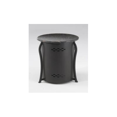 The Outdoor GreatRoom Company LP Tank Cover Side Table with Granite Top