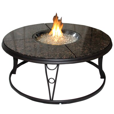 The Outdoor GreatRoom Company Chat Table with Fire Pit