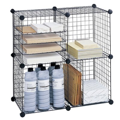 Safco Products Company Wire Cube Shelving System