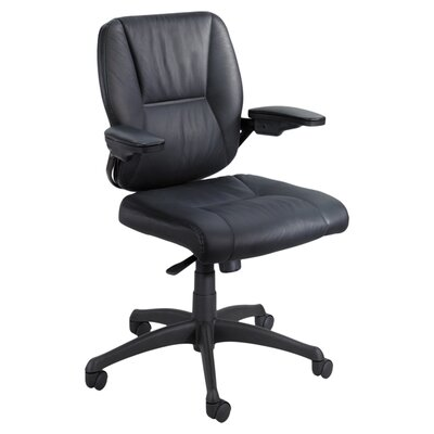 Safco Products Incite Mid-Back Leather Executive Chair