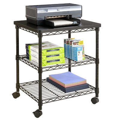 Safco Products Company Desk Side Wire Machine Stand