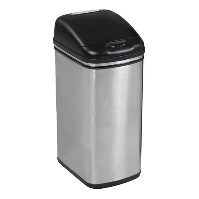 Safco Products Company 8.4-Gal. Kazaam Hands Free Receptacle