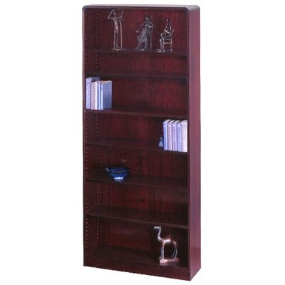 "Safco Products Company Radius-Edge 84"" Bookcase"