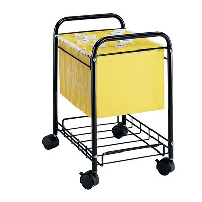 "Safco Products Company 22"" Letter/Legal File Cart"