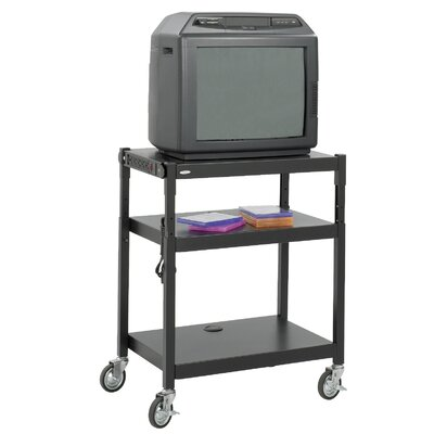 Safco Products Company Adjustable Height TV Cart
