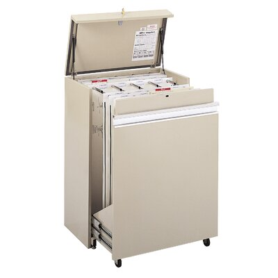 Safco Products Company MasterFile 2 Medium Filing Cart