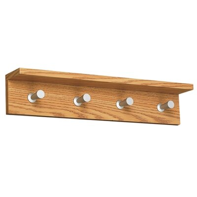 Safco Products Contempo Wood Coat Rack