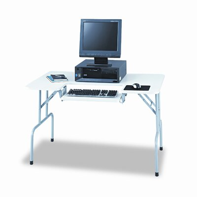 Safco Products Company Folding Rectangular Computer Table