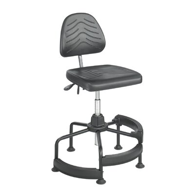 Safco Products Company Height Adjustable Drafting Stool with Footrest