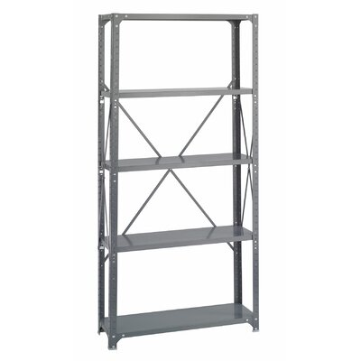 "Safco Products Company Commercial Steel 76"" H 4 Shelf Shelving Unit"